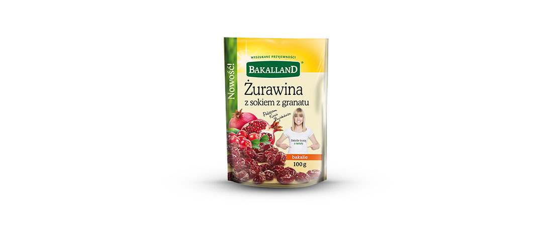 THE BEST PRODUCT 2016 for Cranberries with Pomegranate Juice