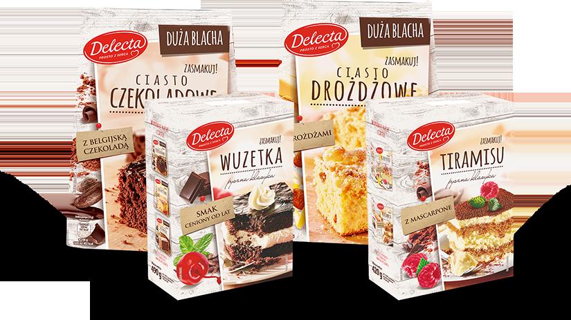 delecta cake mixes img